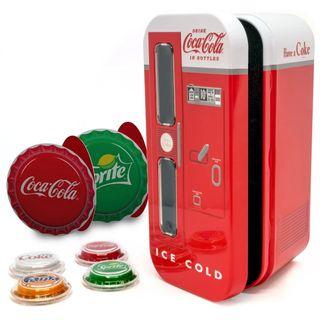 Islas Fiji - Máquina expendedor Coca Cola - Plata