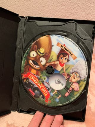 Caperucita Roja película DVD *EDICION ESPECIAL*