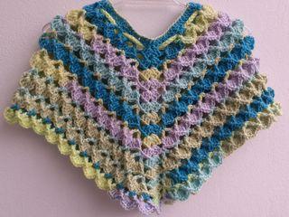 Poncho lana