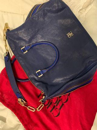 Bolso Carolina Herrera Azul