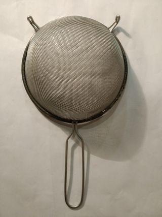 Colador de aluminio
