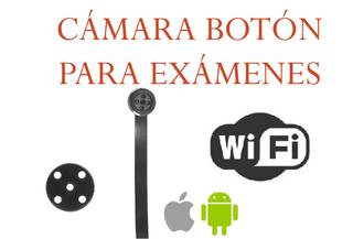 BOTÓN CÁMARA OCULTA WIFI PARA EXÁMENES