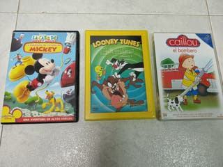 Lote 3 DVD infantiles