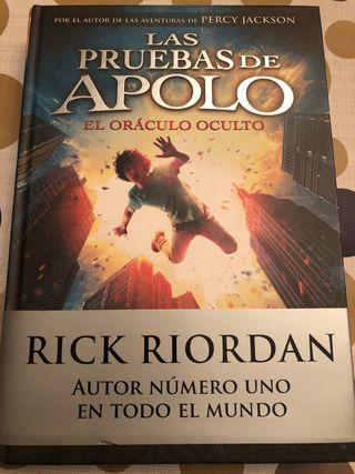 Libro las pruebas de Apolo. El oráculo oculgo