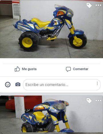 moto batería niño