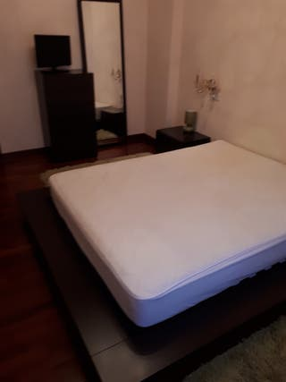 Dormitorio matrimonio completo moderno en wengué