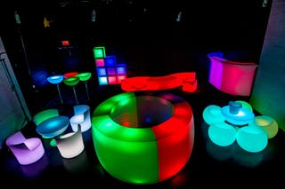 Muebles luminosos