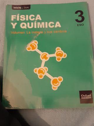 libro de disica y química 3 ESO oxford