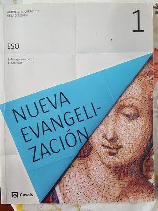 Libro de religión. Casals. 1ESO