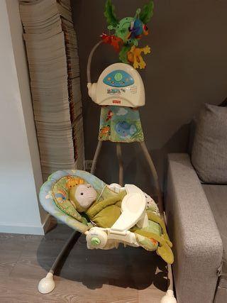 Columpio / hamaca eléctrico para bebé Fisher Price