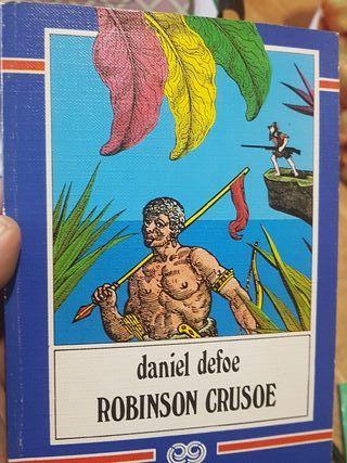 Robinson Crusoe en gallego, Daniel Defoe