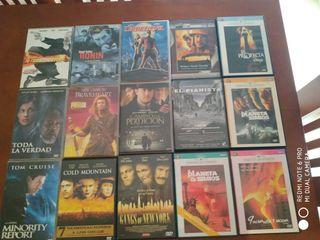 15 DVD en perfecto estado