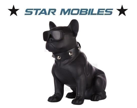 Altavoces portatiles bluetooth bulldog frances