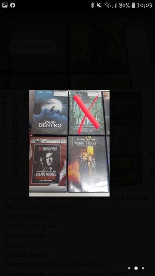 Películas DVD de miedo&accion