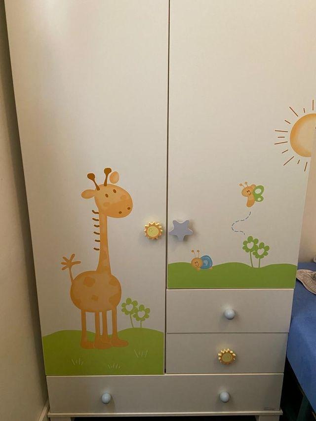armario mi cuna dormitorio bebe