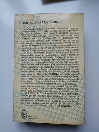 La Regenta - Leopoldo Alas Clarín