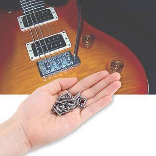 8 Tornillos guitarra para marcos humbucker, nuevos