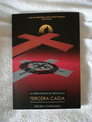 LIBRO DE LA HERMANDAD JESÚS EN SU TERCERA CAÍDA