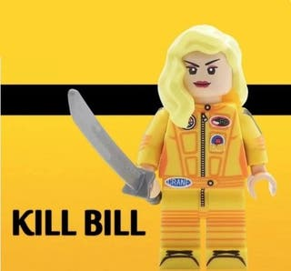 Kill Bill Vol. 1 Minifigures Pelicula Lego Compati