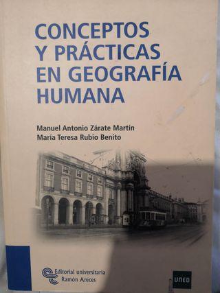 Conceptos y prácticas en Geografia Humana