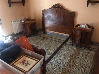 Dormitorio en nogal