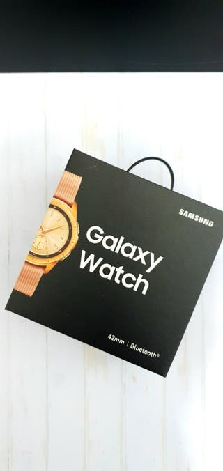 Galaxy watch 42mm rose Gold gps bluetoo precintado