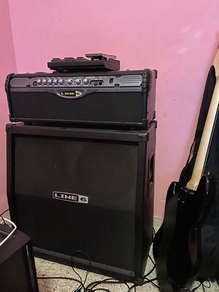 Pantalla y amplificador LineII HD74