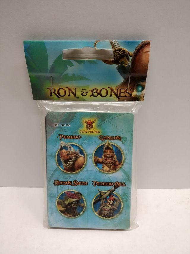 Cartas de personajes de Ron & Bones.