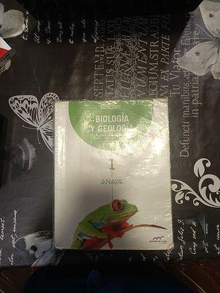 Libro Biología y Geología 1° Bachillerato