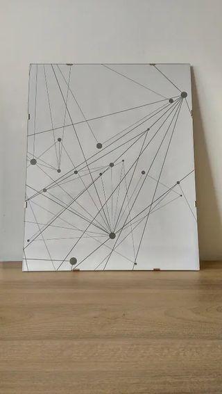 Cuadro abstracto 40x50