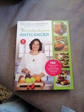 """Libro nuevo """"Mis recetas anticancer"""""""