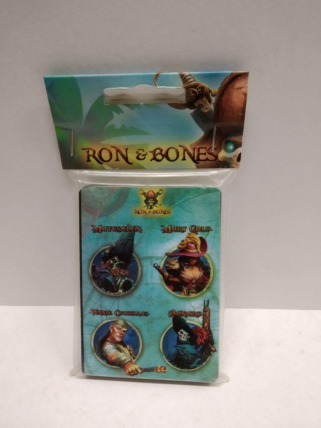 Cartas de Personajes Ron & Bones.