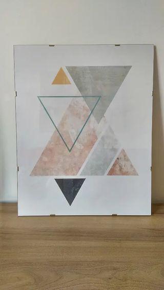 Cuadro geométrico 40x50