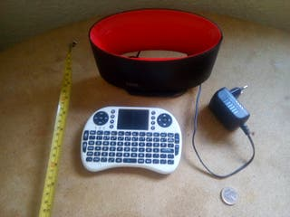 centro multimedia + teclado ratón inalambrico