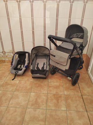 Carrito para bebé BY JANÉ 3 piezas 2017