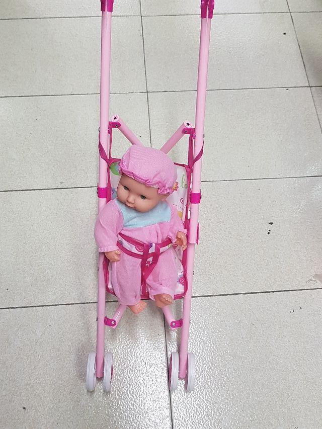 carrito con bebe