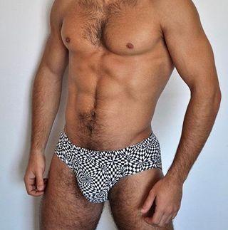 Sexy bañador masculino de diseño