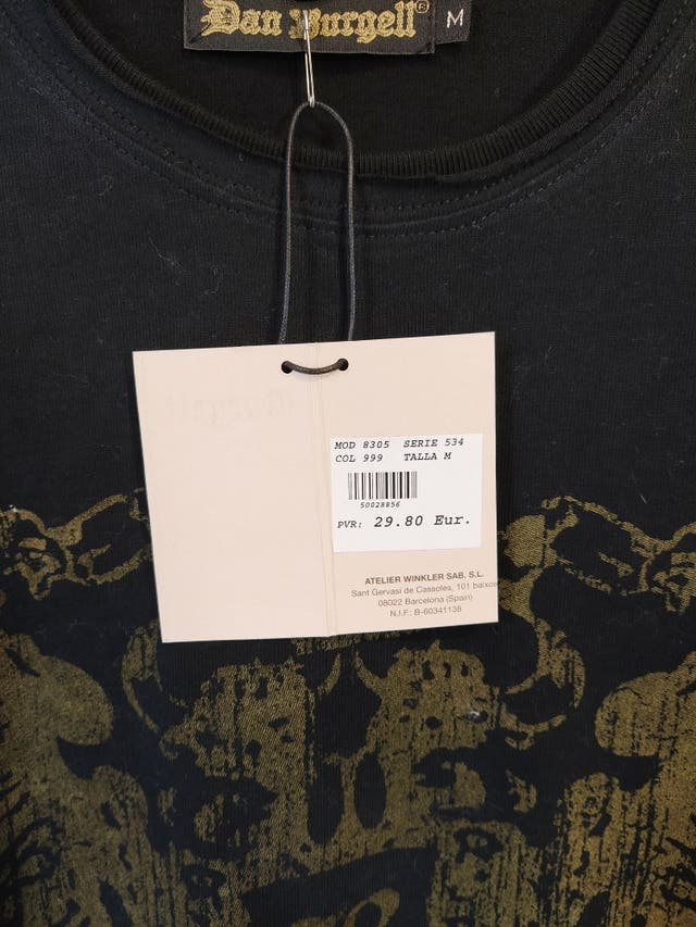 Líquidación camisetas chico