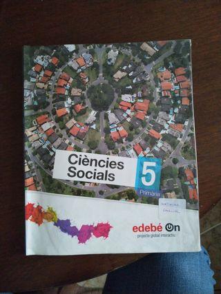 Libro de Ciències Socials. 5 Primària