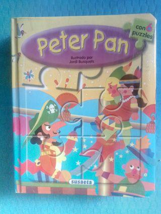PETER PAN CUENTO PUZZLE SUSAETA EDICIONES