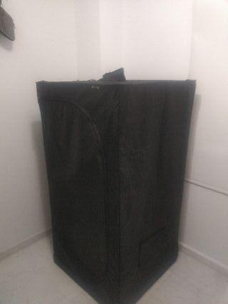 armario de cultivo interior a led ultraviloeta