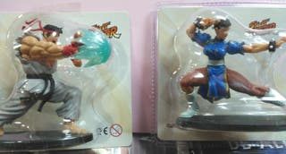 2 figuras Street Fighter sin desprecintar
