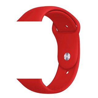 Correa Apple Watch 42 mm roja