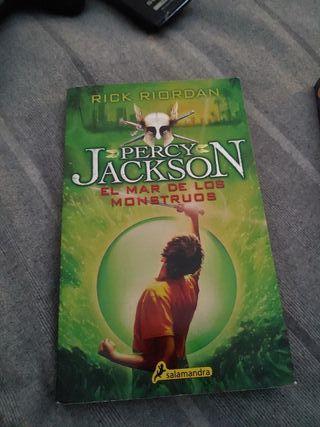 Percy Jackson libros 2 y 3