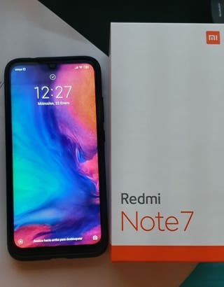 Xiaomi redmi note 7 128gb practicamente sin usar