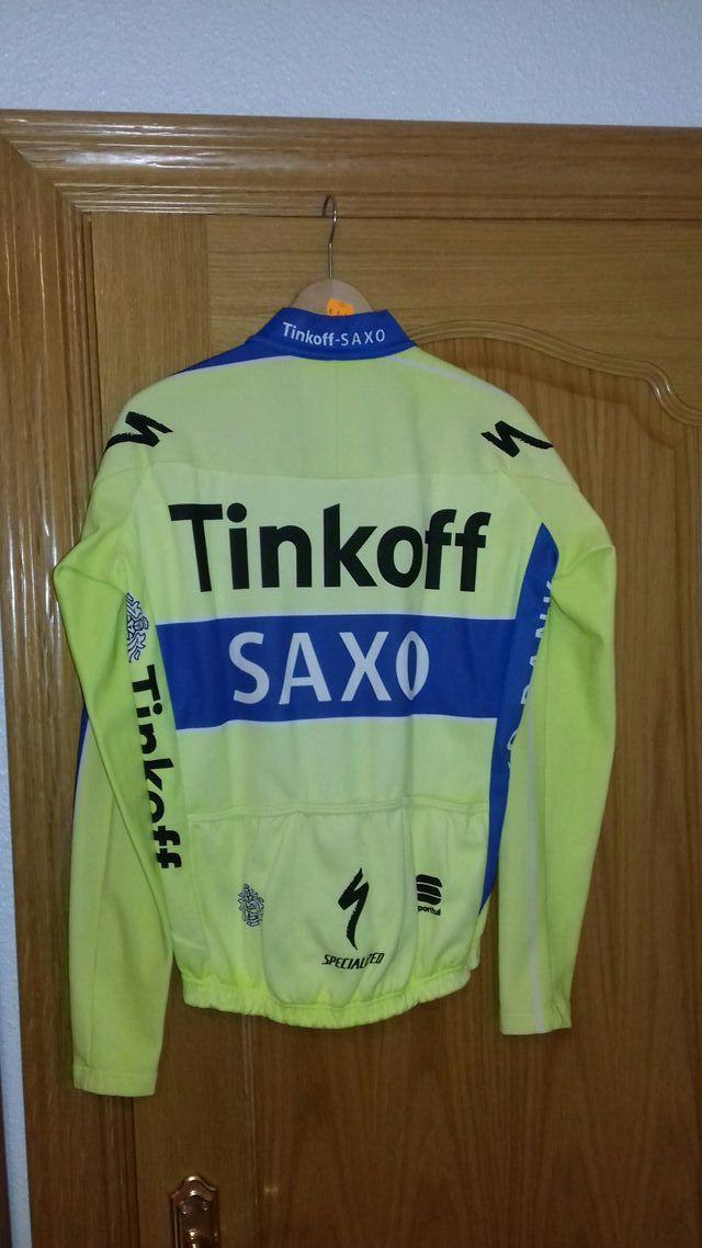 Chaqueta Sporfull thermal Saxo Tinkoff