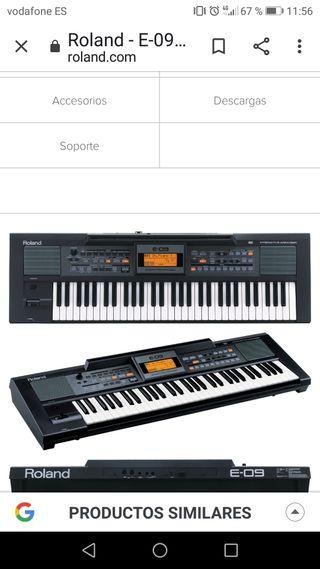 teclado Roland E 09