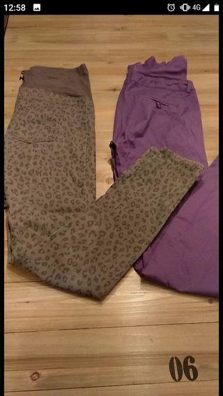 lote pantalones premamá HYM