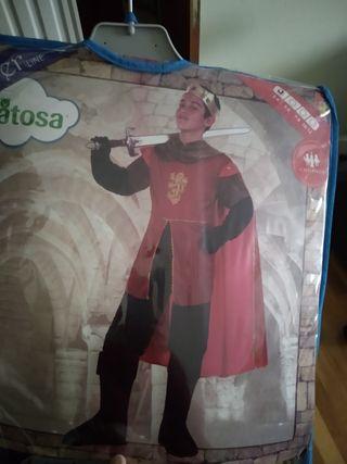disfraz de príncipe medieval
