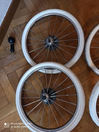 Recambios ruedas bebecar